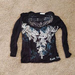 COPY - Chelona printed tee shirt med
